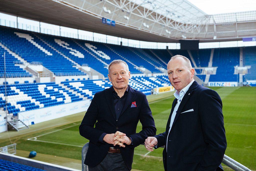 Dr. Peter Göhrlich and Dietmar Böhm
