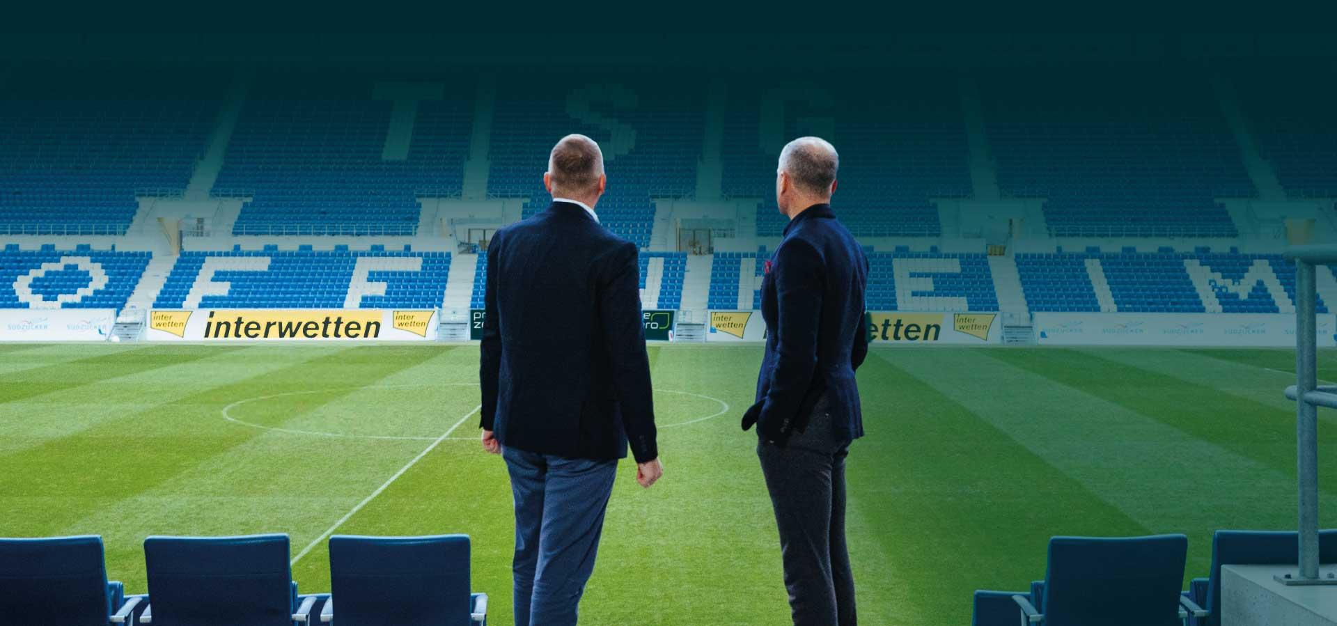 Dr. Peter Göhrlich und Dietmar Böhm